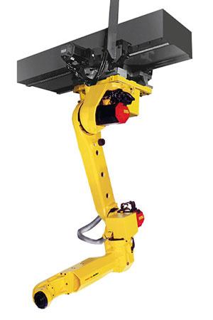 FANUC top mount industrial robots
