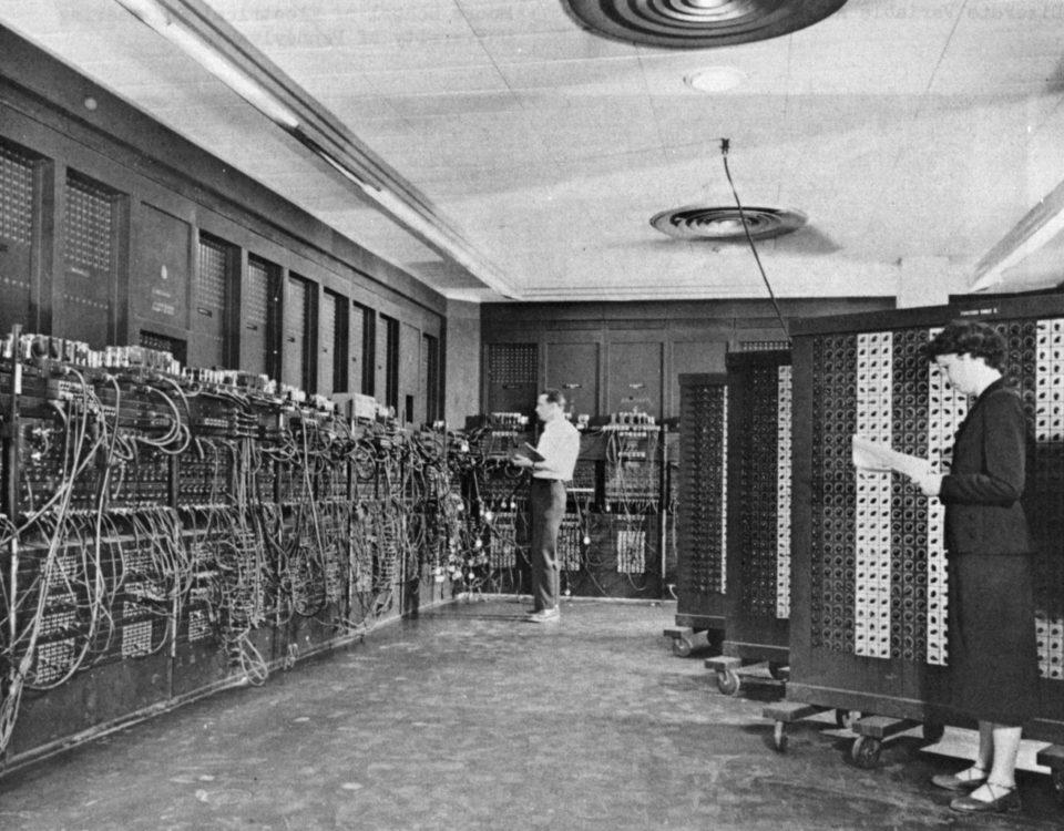 ENIAC - първия електронен цифров компютър с общо предназначение
