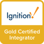 Golden Certified Integrator of Ignition badge