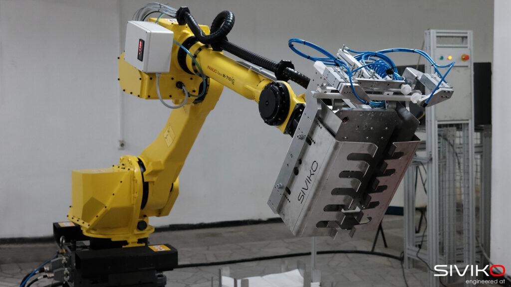 Повече от палетизиращ робот